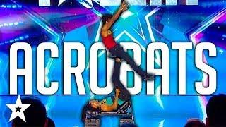 MIND-BLOWING Acrobatic Audition on Got Talent France   Got Talent Global