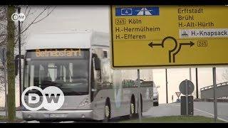 Hidrojenli otobüslerle hava kirliliğine son - DW Türkçe