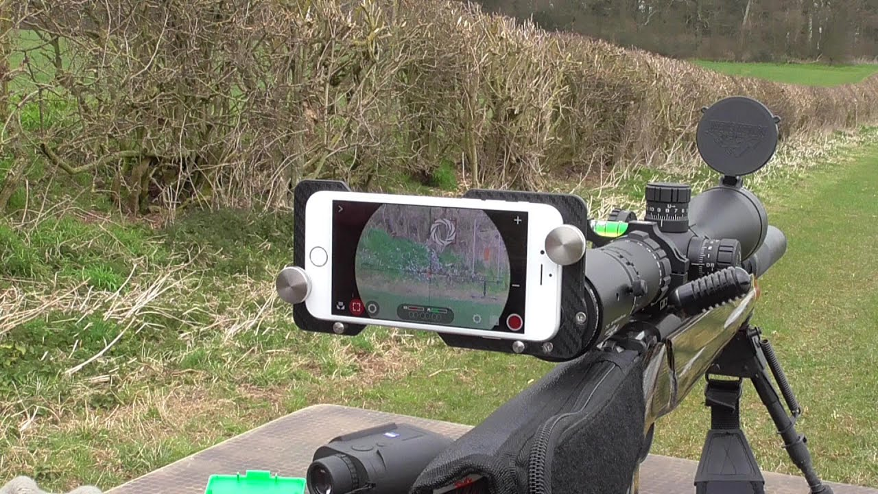 iphone rifle scope mount youtube