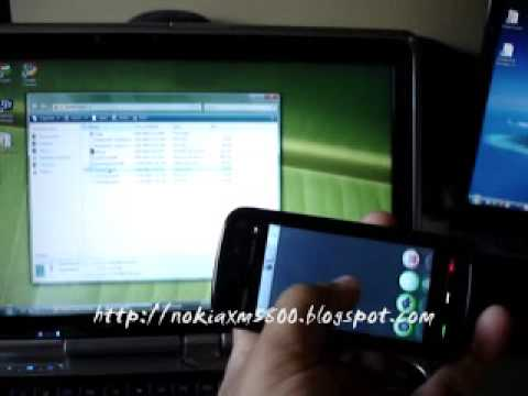 Bluetooth PC Remote Control Nokia 5800 & Nokia N97, free app Smart Touch
