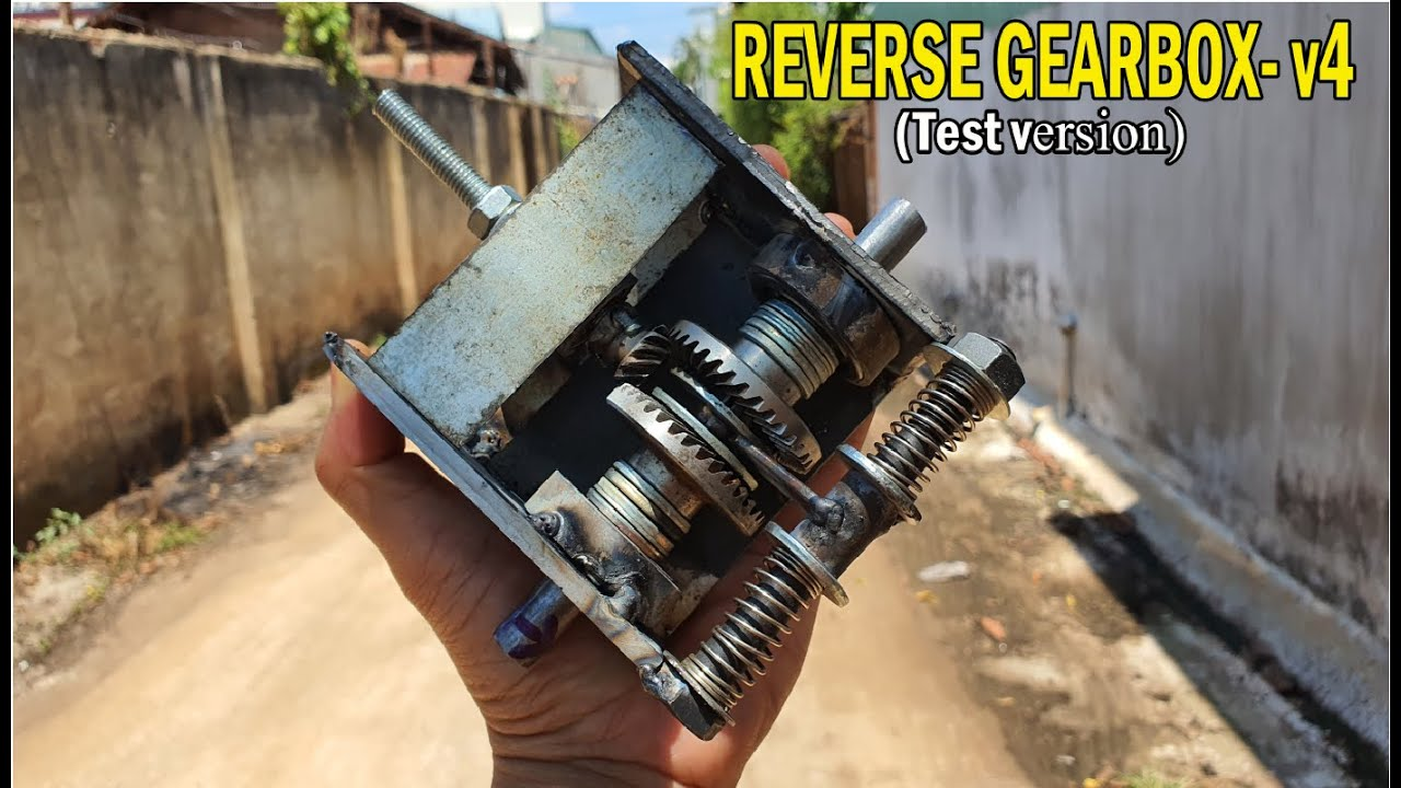Build a REVERSE GEARBOX - V4