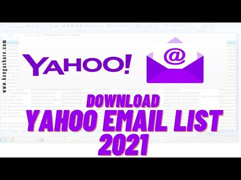 Download Free Verified Yahoo Email List of 10,000 Active Addresses