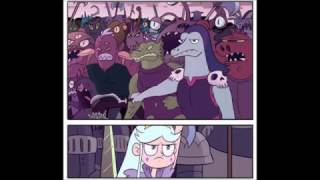 Star Vs.The Forces Of Evil-Moon Vs Toffee Comic Parte 1