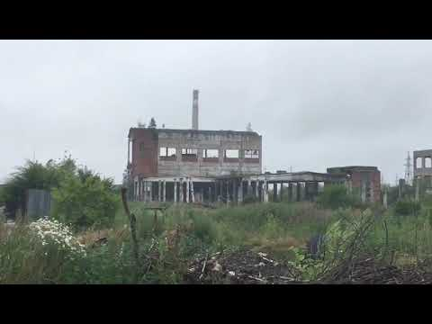 В Амурске сносят руины ЦКК при помощи генератора импульсного действия