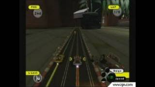 Grooverider: Slot Car Thunder GameCube Gameplay - Not the