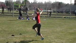 2010 Falcon Invite Alicia Bower hurls the Javelin 28 meters