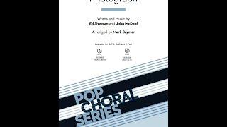 Photograph (SATB Choir) - Arranged by Mark Brymer