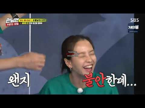 Running man eps 419_Ji Suk jin jealous of Ace Ji hyo because she's always lucky