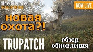 НОВАЯ ОХОТА?! Tru-PATCH theHunter: Call of the Wild [СТРИМ ОБЗОР]