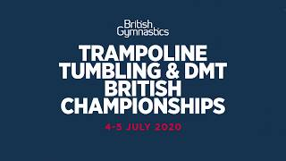 Trampoline, Tumbling & DMT British Championships - Tickets Now on Sale!