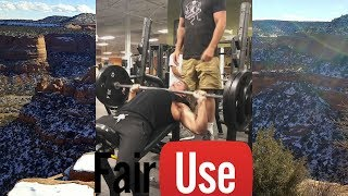 Kinobody Snap City Inclines 290X5 & Claims Touching The Chest Isn't Necessary!