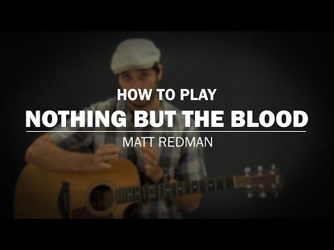 Nothing But The Blood (Matt Redman) | Beginner Guitar Lesson | How ...
