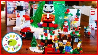 LEGO MEGA CHRISTMAS! Celebrating and Learning with LEGO and Izzy's Toy Time