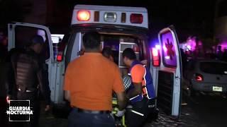 Un hombre resultó lesionado tras sufrir un asalto #GuardiaNocturna