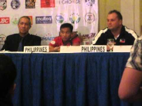 Philippine Football Peace Cup Press Conference (Part I)