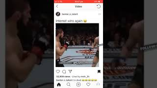 Watch this Too funny Connor mcgregor vs Khabib voiceover