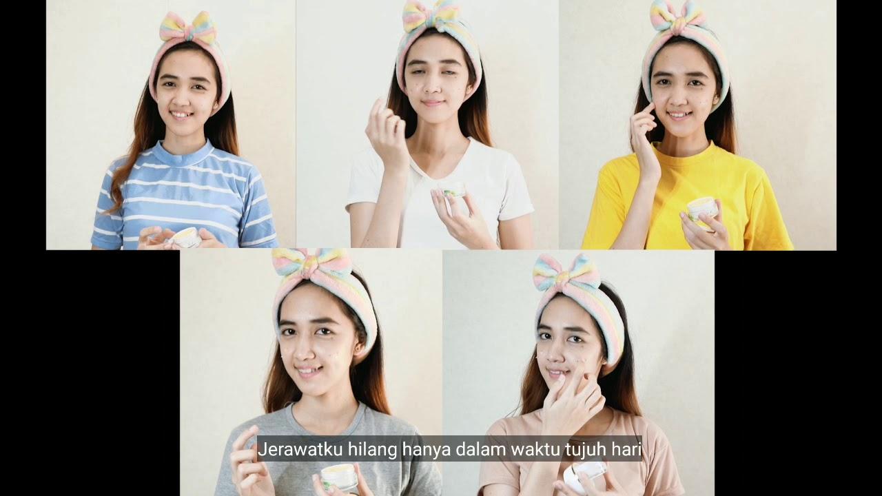 Paket Skincare Facial Wash & Cream Malam, Pagi & Siang ...