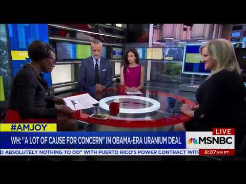 MSNBC Host Skewers Claims Clinton Helped Sell Uranium To The Russians