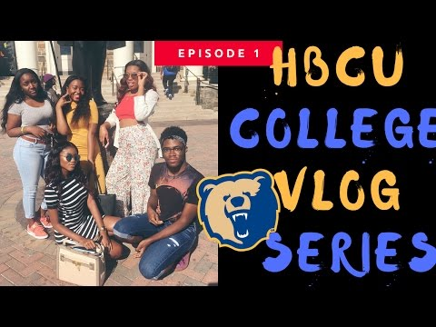 HBCU COLLEGE VLOG #1 | MORGAN STATE UNIVERSITY