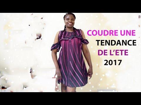 2369320485b DIY LA PETITE ROBE D ETE TENDANCE COUTURE RF MODE 2017 - YouTube
