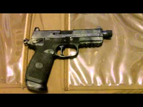 The FNP .45 tactical review... An HK plus doodads, for less.