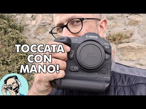 Canon EOS R3: TOCCATA CON MANO!