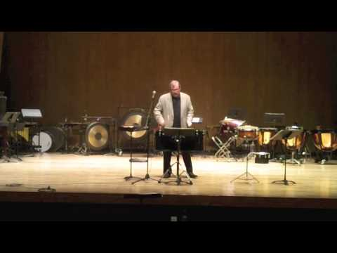 "James Campbell @ 2013 Kentucky ""Day of Percussion"""