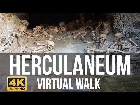 Herculaneum, Italy Virtual Walk in 4K
