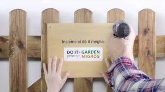 Do it + Garden Migros: insieme si dà il meglio.