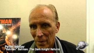 Batman: the Dark Knight Returns Part 2 - Peter Weller -Batman