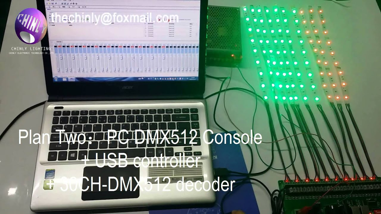 Led Strip Light Dmx Controller 30 Channel 27 Channel Easy Dmx Rgb Led Strip Controller Dimmer 12v Console
