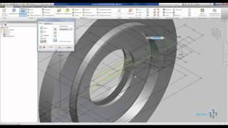 Создание 3D модели из 2D чертежа из AutoCAD в Inventor