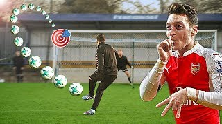 Mesut Özil vs freekickerz ⚽ Football Challenge