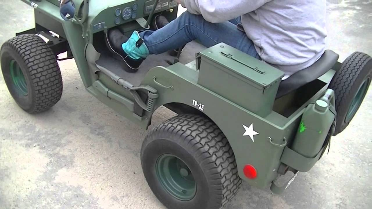 Classic Jeeps For Sale >> 1944 Willys Jeep Novelty Car For Sale (SOLD!) motorlandamerica.com - YouTube
