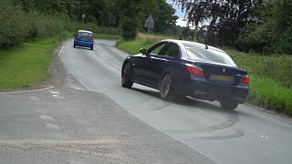 Cars Leaving a Car Show (Sportscars in the Park Lotherton Hall 2019)