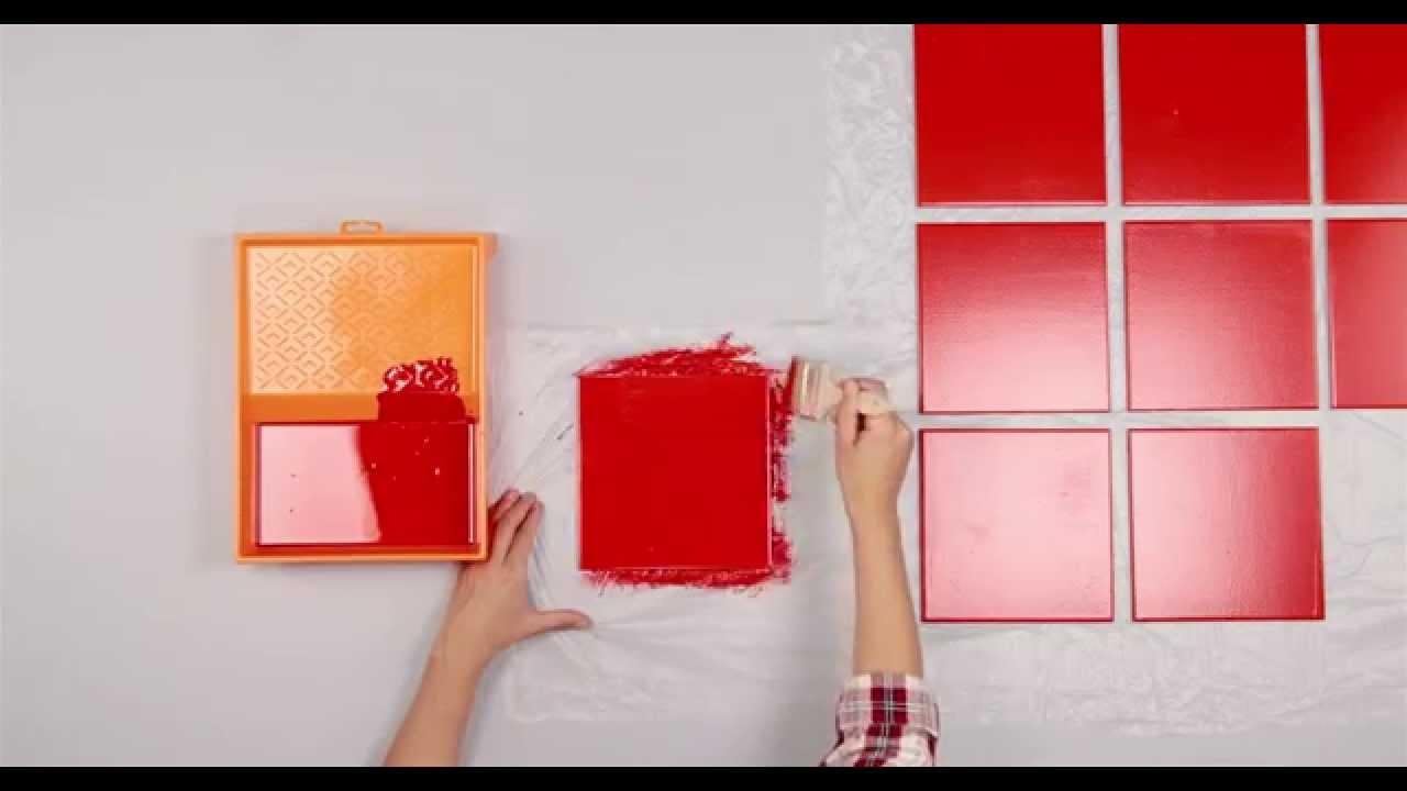 Pintar y colocar azulejos en el ba o youtube - Pintura azulejos colores ...