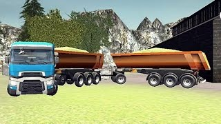 Farm Truck 3D Silage Extreme - Android Gameplay HD screenshot 5