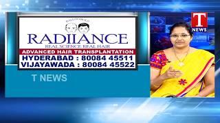 Dr. Krishna Priya About Radiiance Advance Hair Transplantation | Health Plus | TNews Telugu