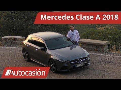 Mercedes Clase A 200 2018 | Prueba / Test / Review en español | Autocasión
