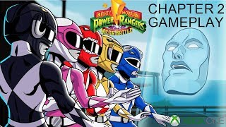 Mighty Morphin Power Rangers Mega Battle Stage 2 Gameplay & Boss Battle | Xbox One