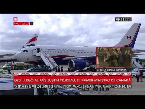 G20: Así fue la llegada de Justin Trudeau, Primer Ministro de Canadá