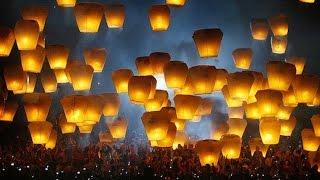 Realizan festival de globos de Cantoya en Hidalgo