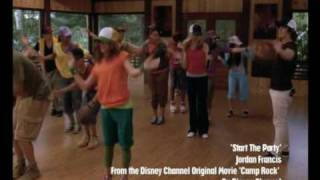 Top 10 Party Music Videos: Number 10 - Start The Party (Camp Rock) | Official Disney Channel UK