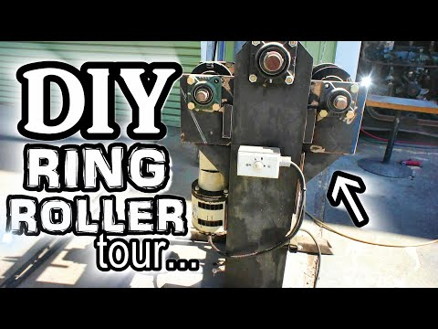 A quick RING ROLLER/ROLL BENDER tour