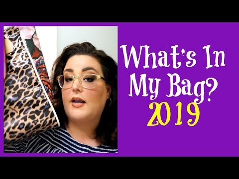 What's In My Bag 2019 | What's In My Purse? | Consuela Style