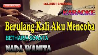 Download lagu HATI YANG LUKA [KARAOKE] BETHARIA SONATA ll NADA WANITA ll DIS=DO
