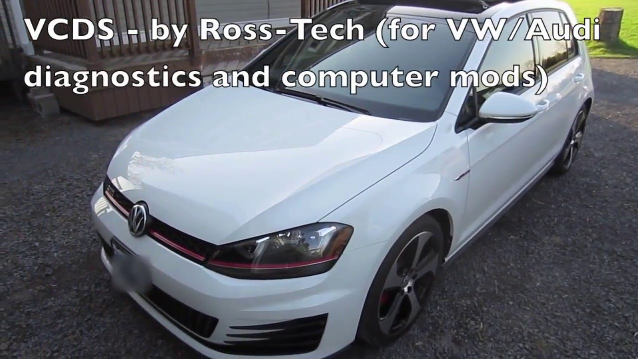 MK7 VW GTI Zaino detailing and VCDS mods