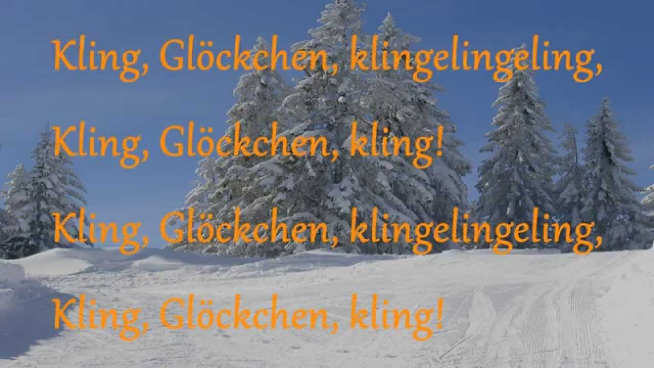 Geräumig Kling Glöckchen Ideen Von GlÖckchen Mit Lyrics | Ik