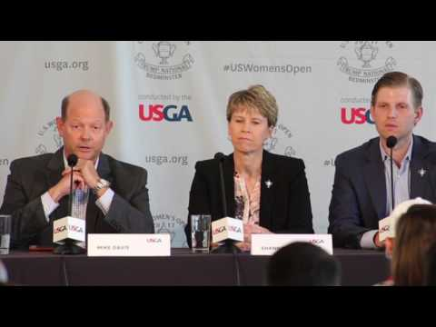 USGA CEO deflects question about holding Women's US Open at Trump National