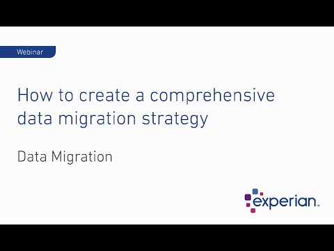 Webinar: How to Create a Comprehensive Data Migration Strategy